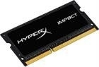 Kingston HyperX Impact, RAM-muisti, SO-DIMM, DDR3L, 4GB, 1866MHz