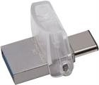 Kingston DataTraveler microDuo 3C - 32GB USB 3.1 muisti, USB A & C