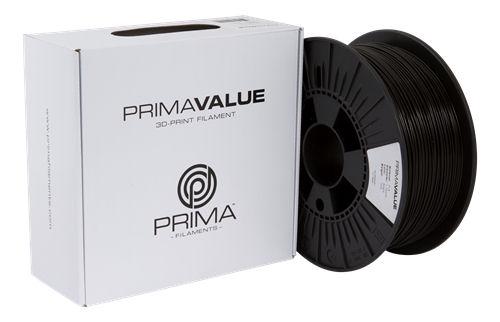 PrimaValue PLA-tulostuslanka, 1,75mm, 1kg:n rulla, musta - Prima - kuva 2