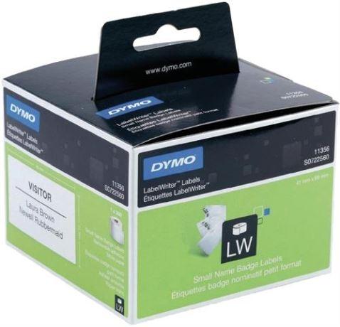 DYMO LabelWriter nimitarra, 89x41 mm, valk, 1-pakkaus (300 kpl) - DYMO - kuva 1