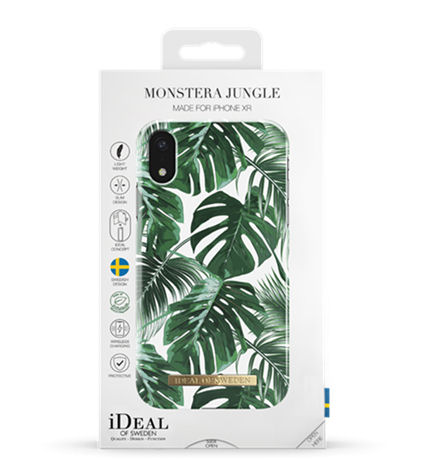 Fashion Case iPhone XR Monstera Jungle - IDEAL - kuva 2