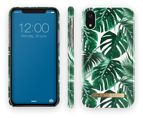 Fashion Case iPhone XR Monstera Jungle - IDEAL - kuva 1