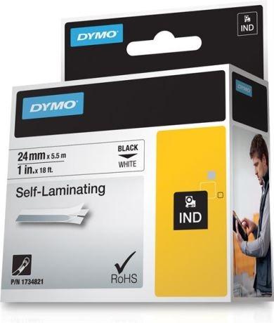 DYMO Rhino Professional, itselaminoiva vinyyliteippi, 24mm, 5,5m - DYMO - kuva 1