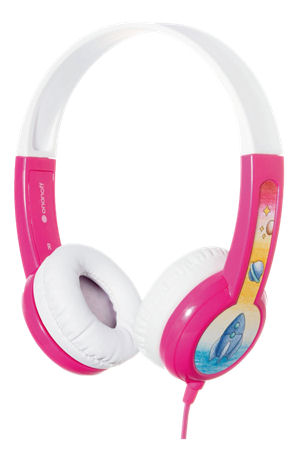 BuddyPhones Discover Kids headphone, rosa | BP-DIS-PINK-01-K | BuddyPhone