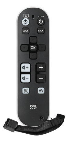 One For All URC 6810 Universal Remote Control Zapper, TV - ONE FOR ALL - kuva 1