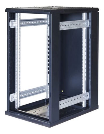 "TOTEN System G, 19"" lattiakaappi, 22U, 600x1000, lasi ed., met. takana - TOTEN - kuva 2"