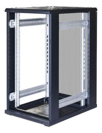 "TOTEN System G, 19"" lattiakaappi, 22U, 600x1000, lasi ed., perfor. tak - TOTEN - kuva 3"