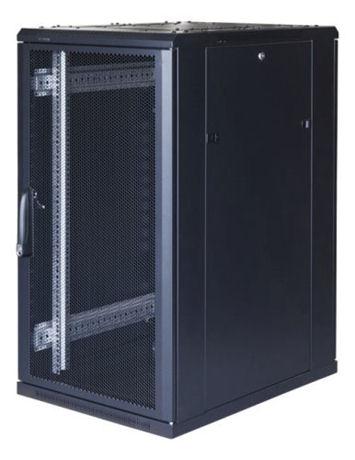 "TOTEN System G, 19"" lattiakaappi, 22U, 600x1000, perf. etu- ja takaovi - TOTEN - kuva 1"