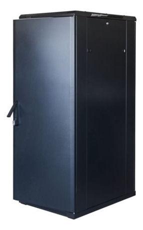 "TOTEN System G, 19"" lattiakaappi, 32U, 600x1000, lasi ed., met. takana - TOTEN - kuva 2"