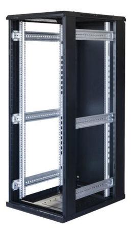 "TOTEN System G, 19"" lattiakaappi, 32U, 600x1000, lasi ed., met. takana - TOTEN - kuva 3"