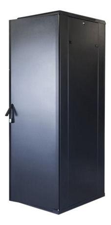 "TOTEN System G, 19"" lattiakaappi, 42U, 600x1000, lasi ed., met. takana - TOTEN - kuva 2"