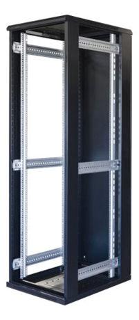 "TOTEN System G, 19"" lattiakaappi, 42U, 600x1000, lasi ed., met. takana - TOTEN - kuva 3"