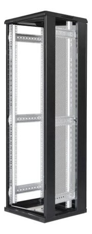 "TOTEN System G, 19"" lattiakaappi, 42U, 600x1000, perf. etu- ja takaovi - TOTEN - kuva 3"