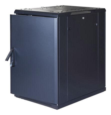 """TOTEN G9, 19"""" lattiakaappi, 18U, 600x800, las. etuovi, metall. takaovi - TOTEN - kuva 2"""