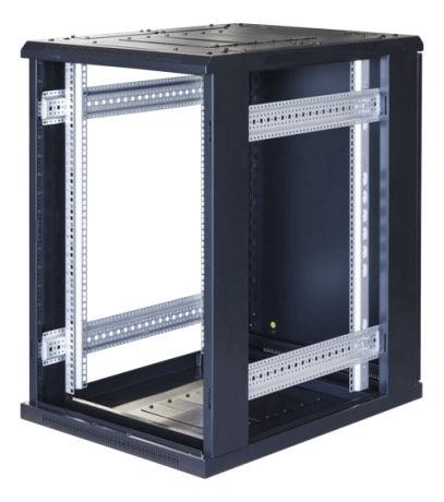 """TOTEN G9, 19"""" lattiakaappi, 18U, 600x800, las. etuovi, metall. takaovi - TOTEN - kuva 3"""