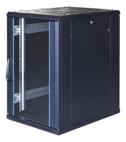 """TOTEN G9, 19"""" lattiakaappi, 18U, 600x800, las. etuovi, metall. takaovi - TOTEN - kuva 1"""