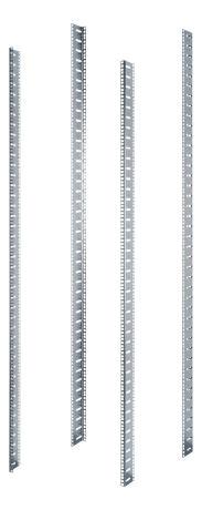 TOTEN Blue zinc L-profiili G-sarjalle, 600mm lev. ja 42U kokoiselle - TOTEN - kuva 1