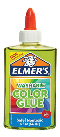 "ELMERS - 2109504 - ELMER""S 147ML TRANSLUCENT LIQUID GLUE GREEN -  - kuva 1"