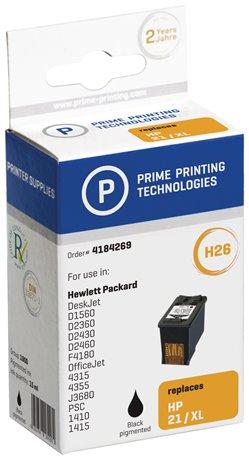 Mustepatruuna 4184269 korvaava hp c9351ce musta 15 ml - Prime Printing Technologies - kuva 1