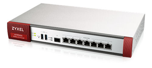 ZyXEL ZyWALL ATP500 palomuuri, 2600Mbps firewall throughput, valk. - ZyXEL - kuva 1