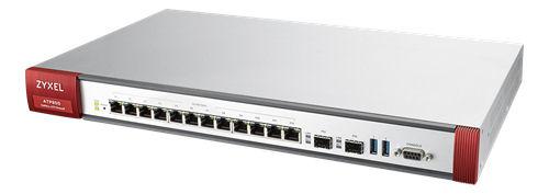 ZyXEL ZyWALL ATP800 palomuuri, 8000Mbps firewall throughput, valk. - ZyXEL - kuva 1