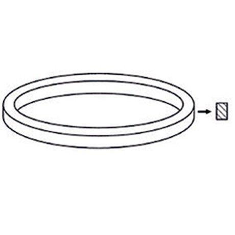 Levysoittimenhihna 176mm x 0.6mm x 5mm, pituus 55,4cm - No Brand - kuva 1