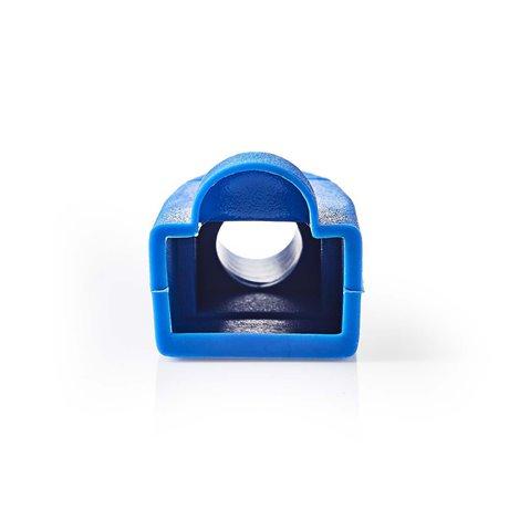Vedonpoistosukka rj45-verkkoliittimille - 10 osaa sininen - Nedis - kuva 2