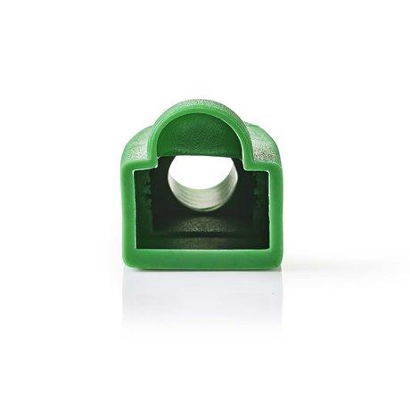 Vedonpoistosukka rj45-verkkoliittimille - 10 osaa vihreä - Nedis - kuva 2
