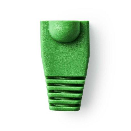 Vedonpoistosukka rj45-verkkoliittimille - 10 osaa vihreä - Nedis - kuva 1