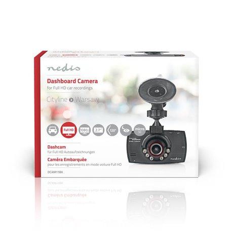 """Autokamera full hd 1080 p 2,7"""" näyttö katselukulma 120° - Nedis - kuva 8"""
