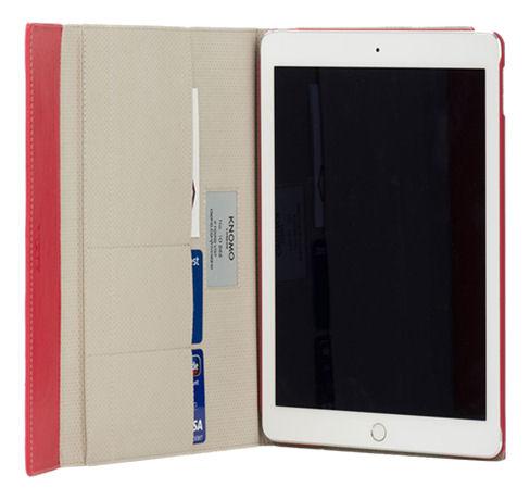 Knomo Premium Folio suojakotelo Apple iPad Air 2:lle, taitettava, pun. - Knomo - kuva 2
