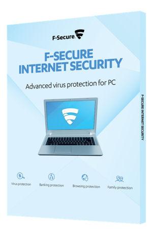 F-Secure Internet Security (1v 3PCs) Attach, Nordisk, SlimBox - F-Secure - kuva 1
