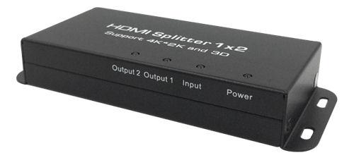 DELTACO HDMI 1.4 -jakaja, 1 sisääntulo ja 2 ulostuloa, 4K 30Hz, musta - DELTACO - kuva 2