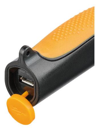 Brennenstuhl kädessä pidettävä työvalaisin, kiinteä akku, USB - Brennenstuhl - kuva 2