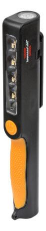 Brennenstuhl kädessä pidettävä työvalaisin, kiinteä akku, USB - Brennenstuhl - kuva 1