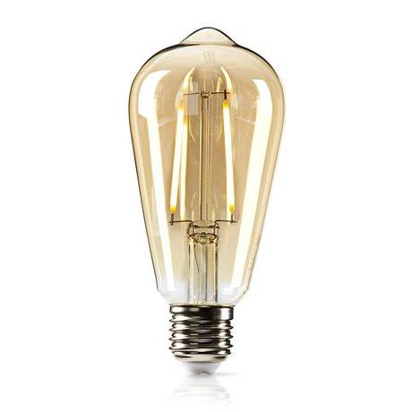 Himmennettävä led-retrohehkulamppu e27 st64 5,4 w 380 lm - Nedis - kuva 1