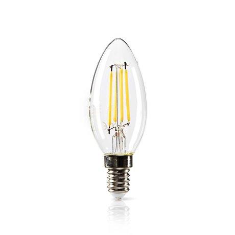 Himmennettävä led-retrohehkulamppu e14 kynttilä 4,8 w 470 lm - Nedis - kuva 2