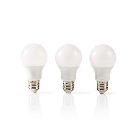 Led-lamppu e27 a60 5,7 w 470 lm 3-pakkaus - Nedis - kuva 1