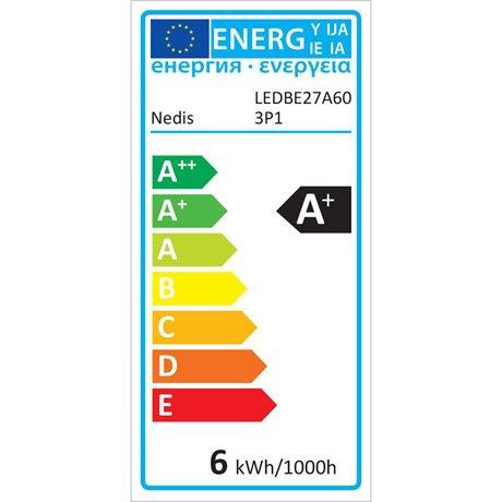 Led-lamppu e27 a60 5,7 w 470 lm 3-pakkaus - Nedis - kuva 5