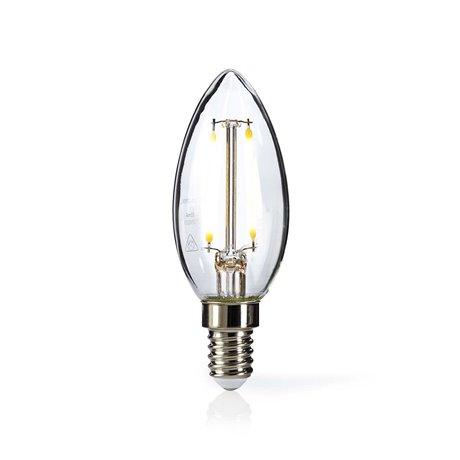 Led-retrohehkulamppu e14 kynttilä 2.5 w 250 lm - Nedis - kuva 1