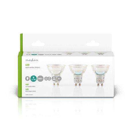 Led-lamppu gu10 par 16 4,6 w 345 lm 3-pakkaus - Nedis - kuva 3