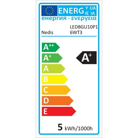 Led-lamppu gu10 par 16 4,8 w 345 lm - Nedis - kuva 6