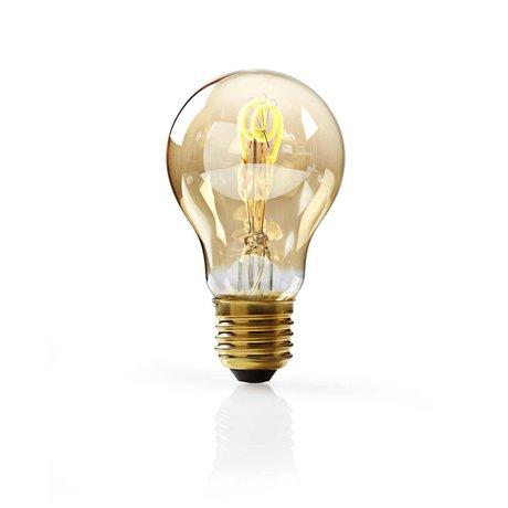 Himmennettävä led-vintagehehkulamppu e27 a60 3 w 100 lm - Nedis - kuva 1