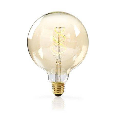 Himmennettävä led-vintagehehkulamppu e27 g125 5 w 260 lm - Nedis - kuva 1