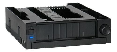 "ICY DOCK DuoSwap MB971SPO-B, 1x3,5"" kiintolevy ja optinen asema, musta - ICY DOCK - kuva 1"