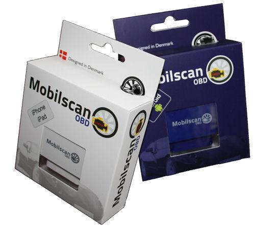 MobileScan iPhone OBD adapteri, auton vikakoodinlukija, Wifi - Mobilscan - kuva 2