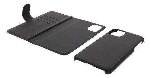 DELTACO 2-osainen lompakkokotelo iPhone 12:lle/12 Prolle, magn.kuori - DELTACO - kuva 3