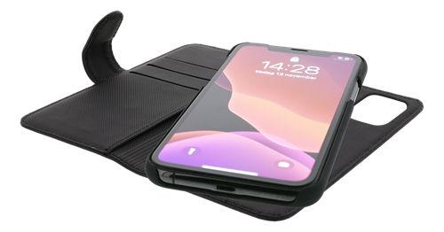DELTACO 2-osainen lompakkokotelo iPhone 12:lle/12 Prolle, magn.kuori - DELTACO - kuva 4