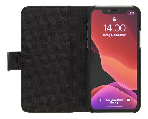 DELTACO 2-osainen lompakkokotelo iPhone 12:lle/12 Prolle, magn.kuori - DELTACO - kuva 5