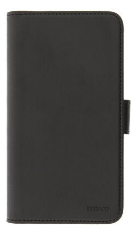 DELTACO 2-osainen lompakkokotelo iPhone 12:lle/12 Prolle, magn.kuori - DELTACO - kuva 1